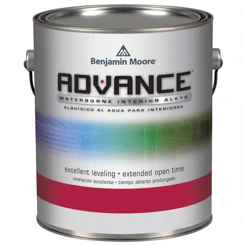 Benjamin Moore Advance Waterborn Interior Alkyd Paint Pearl (3.726 Litres)