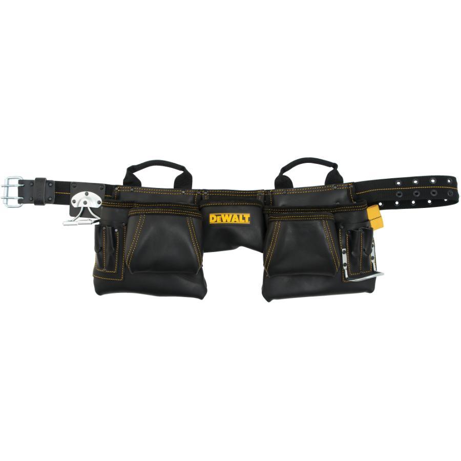 Dewalt 12 Pocket Heavy Duty Leather Carpenters Waist Apron