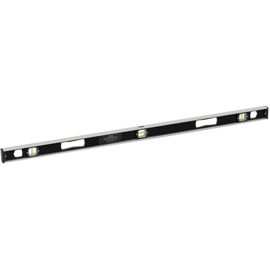"Benchmark 48"" 3 Vials Magnetic Black I Beam Level"