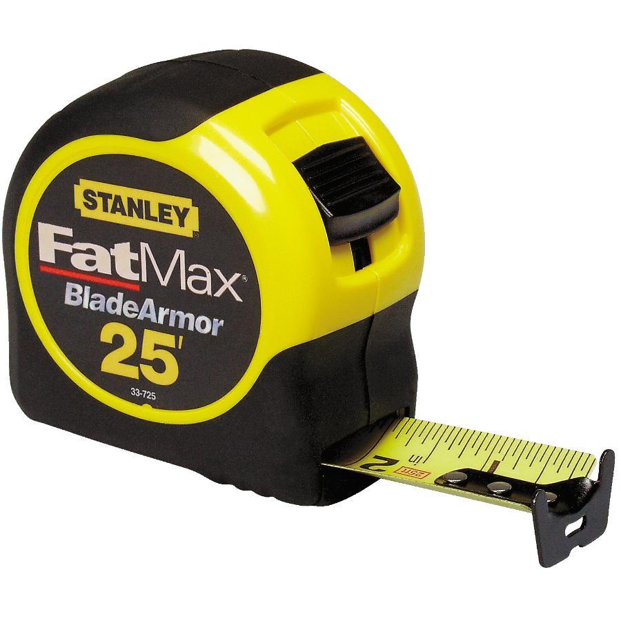 "STANLEY 1-1/4"" x 25' Fatmax Tape Measure"