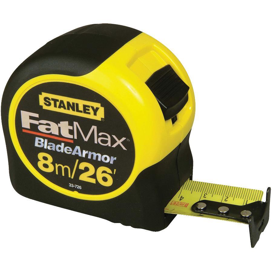 "STANLEY: 1-1/4"" x 26'/8m Fatmax Tape Measure"