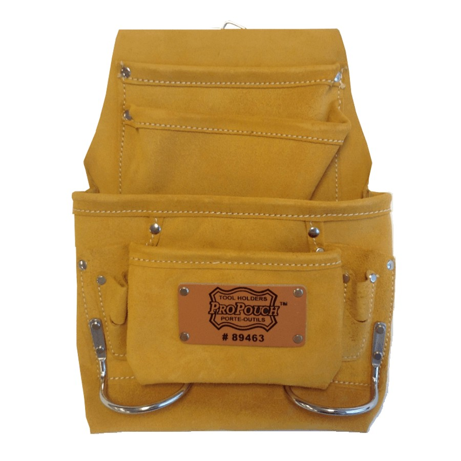 Propouch 10 Pocket Leather Carpenter Nail and Tool Pouch