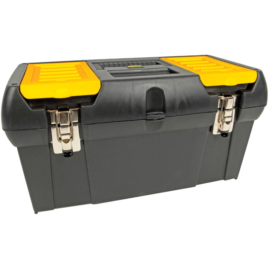 "Stanley 19"" x 10"" x 10"" Tool Box, with Plastic Tray"