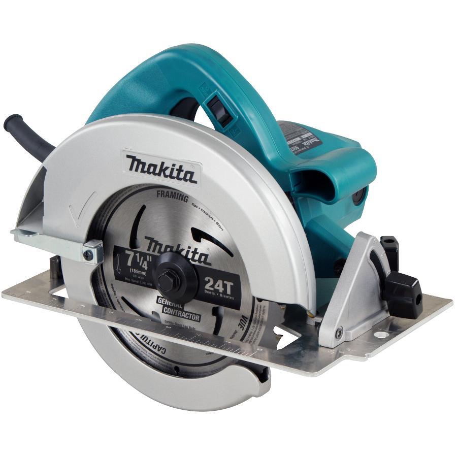 """Makita 7-1/4"""" 15 Amp Circular Saw, with LED Light"""