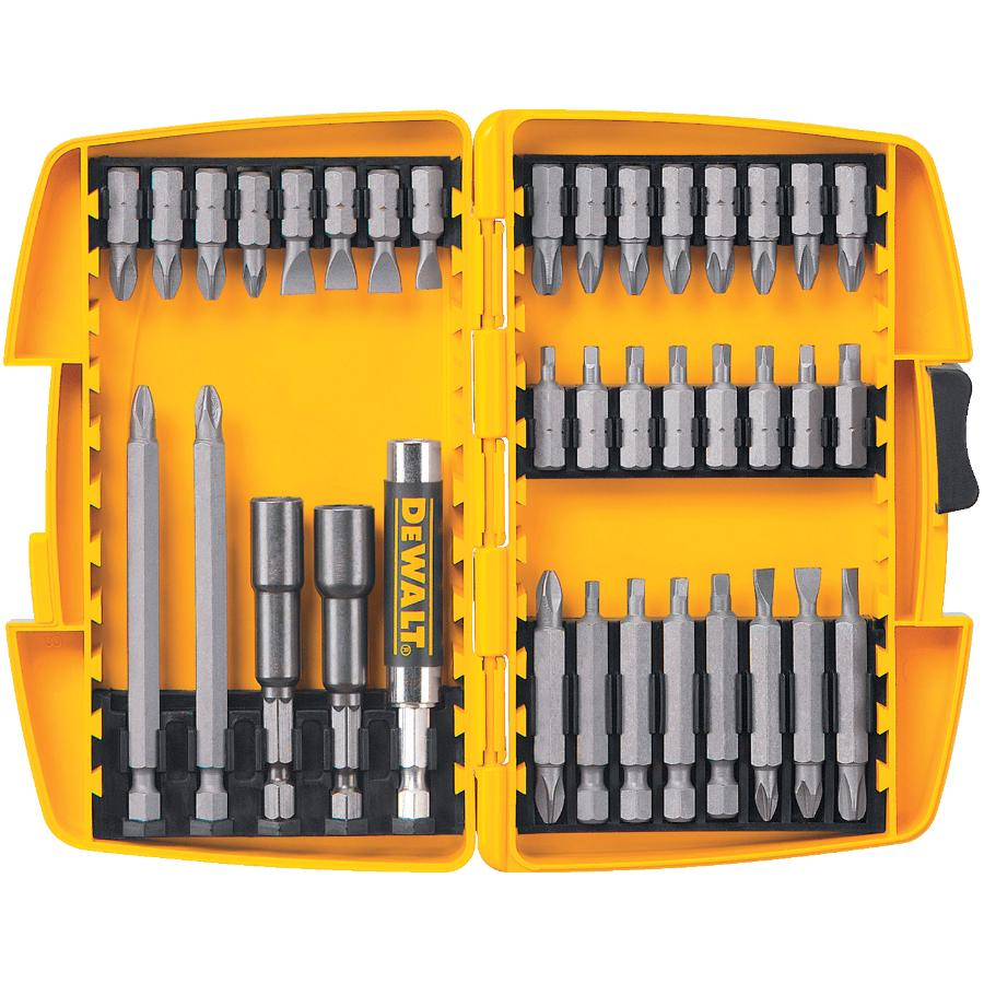 DEWALT: 37 Piece Power Driver Bit Set, with Case
