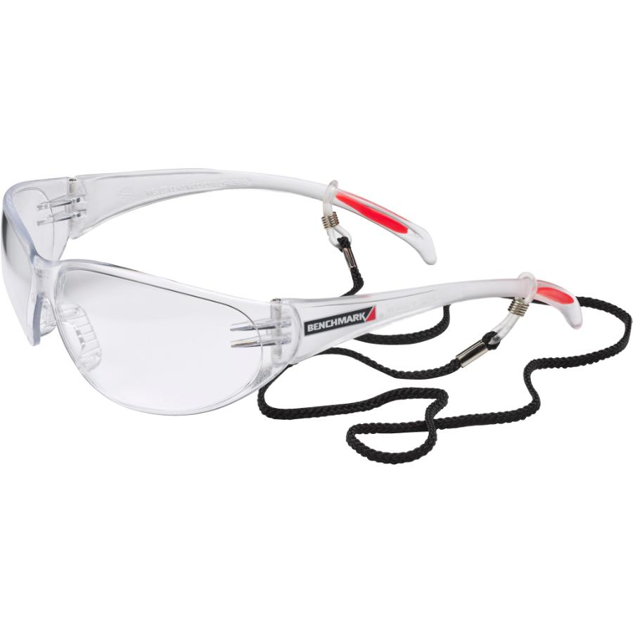 Benchmark Clear Frameless Safety CSA Glasses