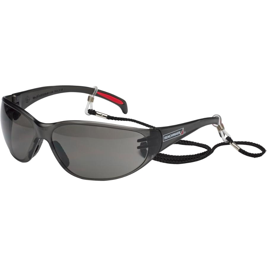 Benchmark Smoked Frameless Safety CSA Glasses