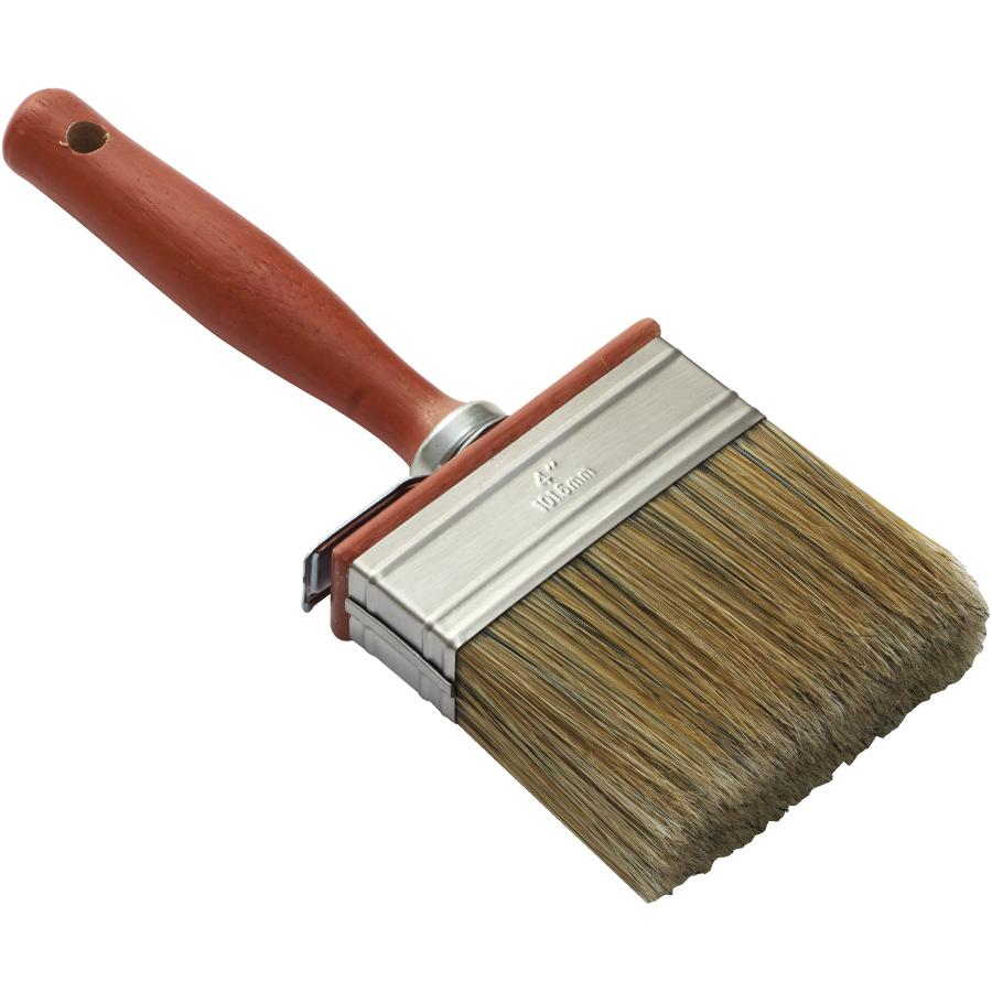 Wood Shield 25mm x 100mm Heavy Duty Pure Stain Brush