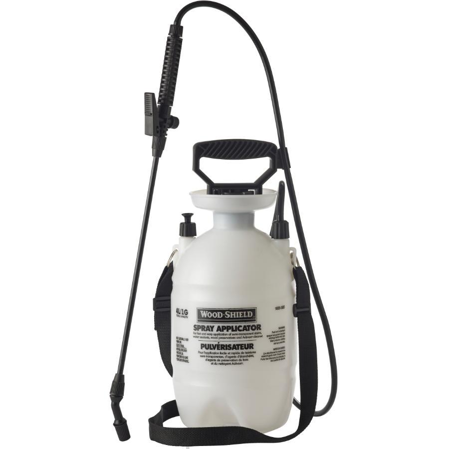 Wood Shield: 1 Gallon Plastic Sprayer Tank