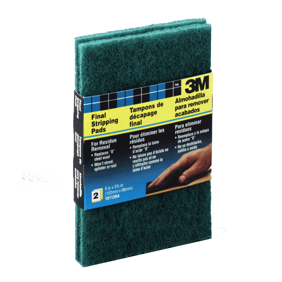 3m 2 Pack Heavy Duty Final Stripping Pads