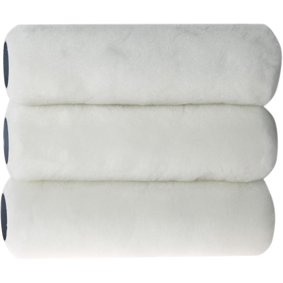 Bennett Perfection Lint Free Paint Roller Covers - 240 mm x 15 mm, 3 Pack