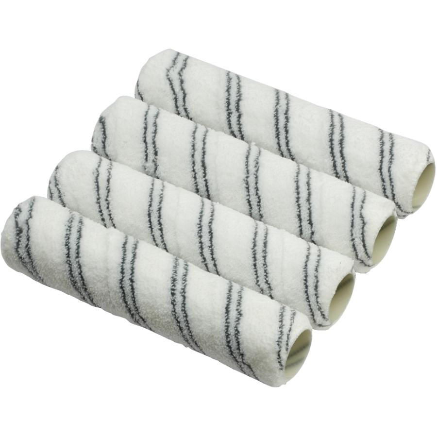 BEAUTI-TONE SIGNATURE SERIES 4 Pack 10mm x 240mm Microfibre Paint Roller Refills