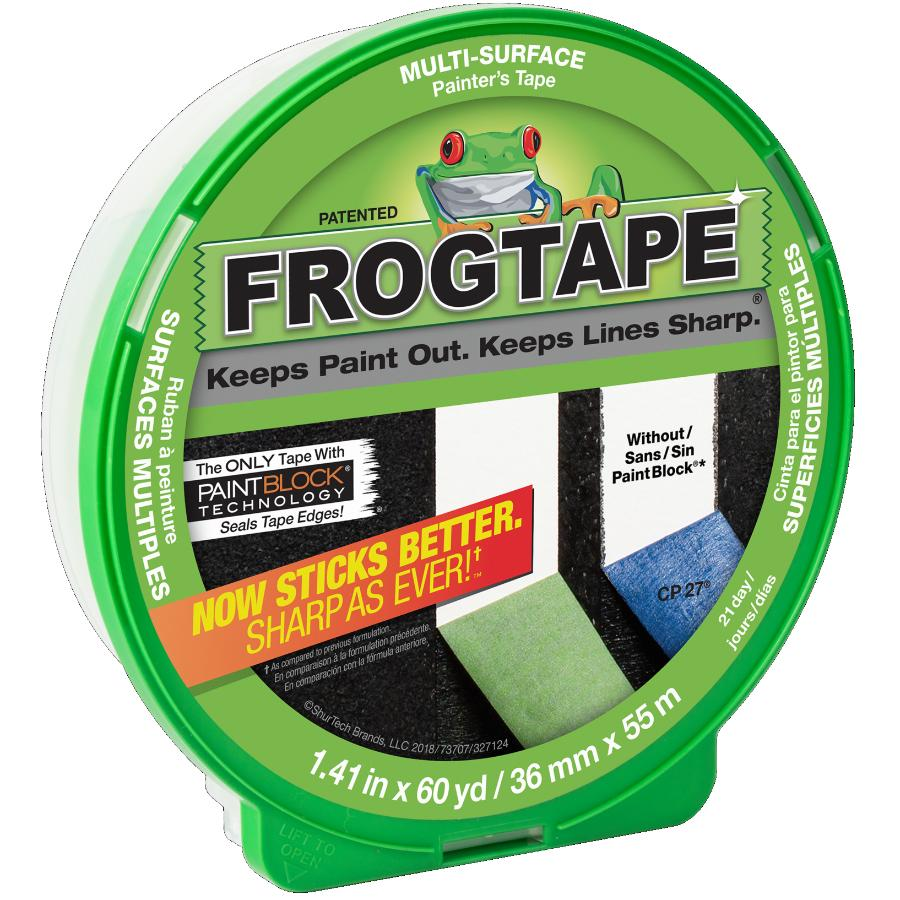 Frogtape 36mm x 55M Painter's Masking Tape, for Multiple Surfaces