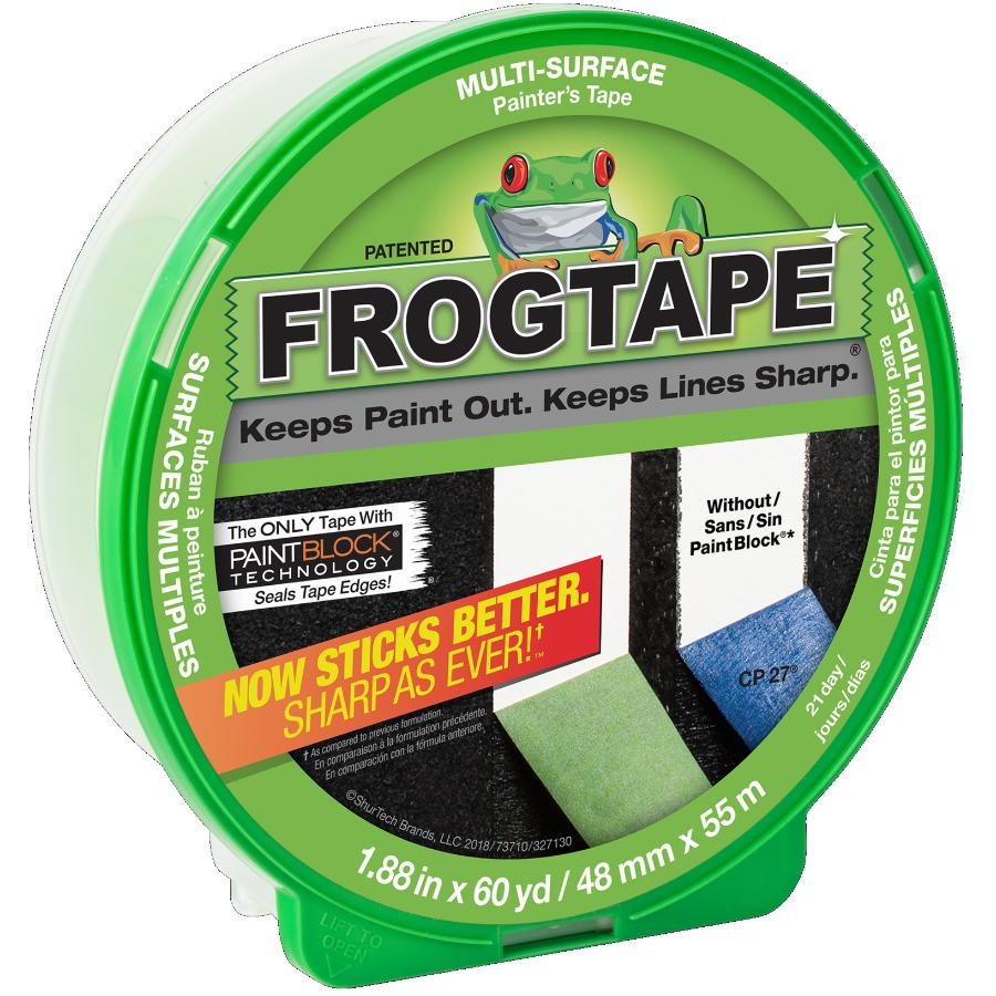 Frogtape 48mm x 55M Painter's Masking Tape, for Multiple Surfaces
