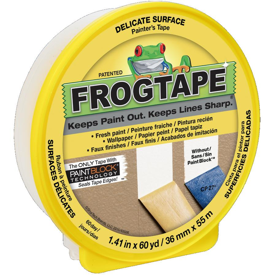 Frogtape: 36mm x 55M Painter's Masking Tape, for Delicate Surfaces