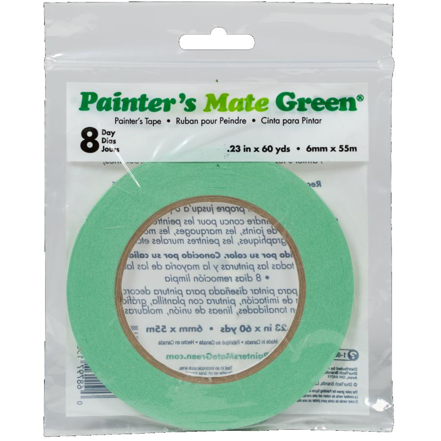 Painter's Mate 6mm x 55M Green Painter's Masking Tape