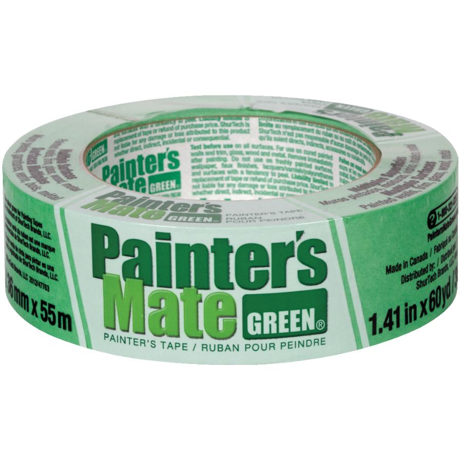 Painter's Mate 36mm x 55M Green Painter's Masking Tape