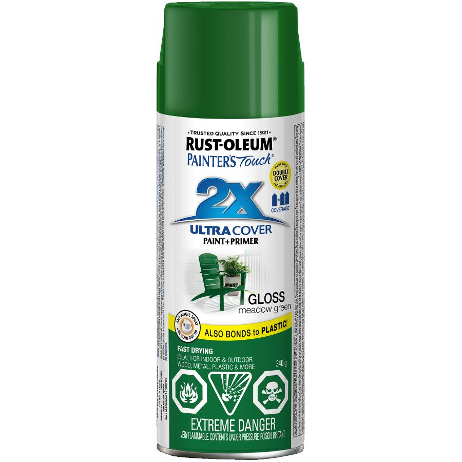 Rust-oleum 340g Painters Touch 2X Gloss Meadow Green Alkyd Paint