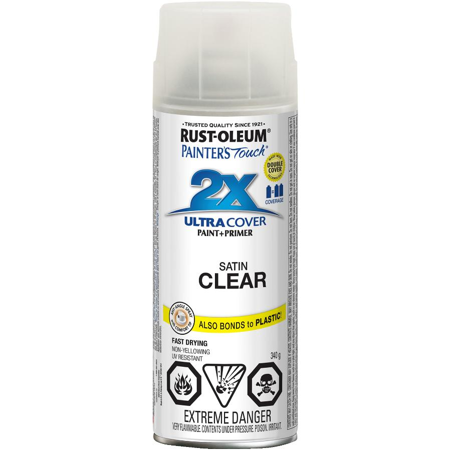 Rust-oleum 340g Painters Touch 2X Satin Clear Alkyd Paint