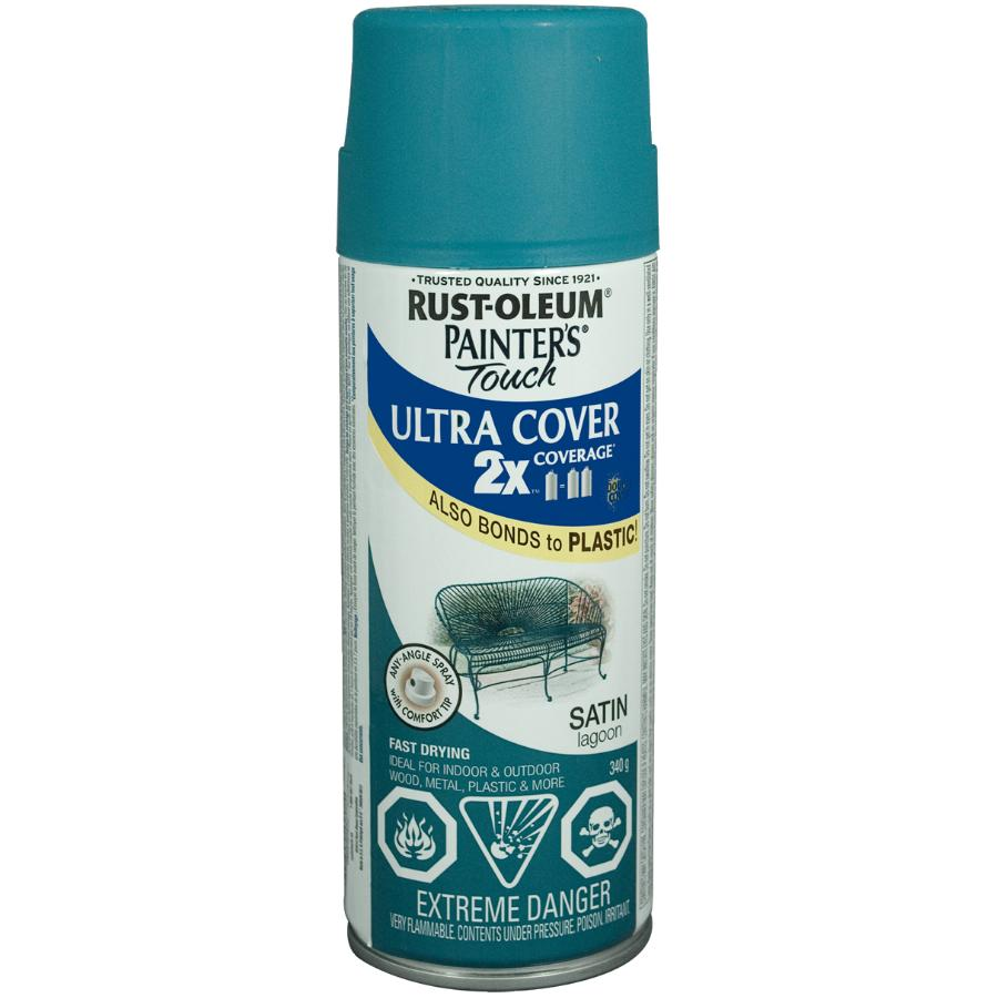 Rust-oleum 340g Painters Touch 2X Lagoon Satin Alkyd Paint