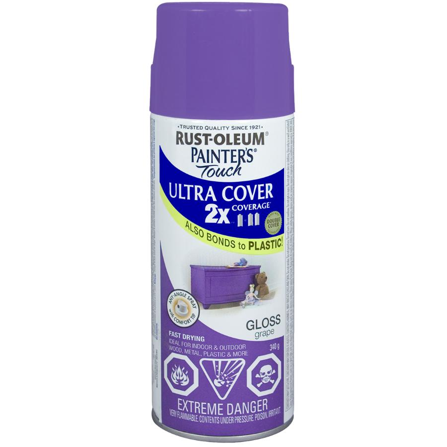 Rust-oleum 340g Painters Touch 2X Grape Gloss Alkyd Paint