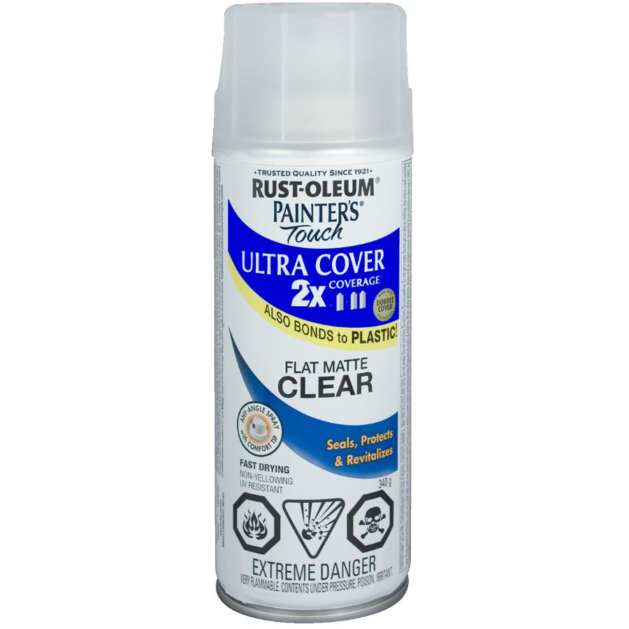 Rust-oleum 340g Painters Touch 2X Flat Clear Matte Alkyd Paint
