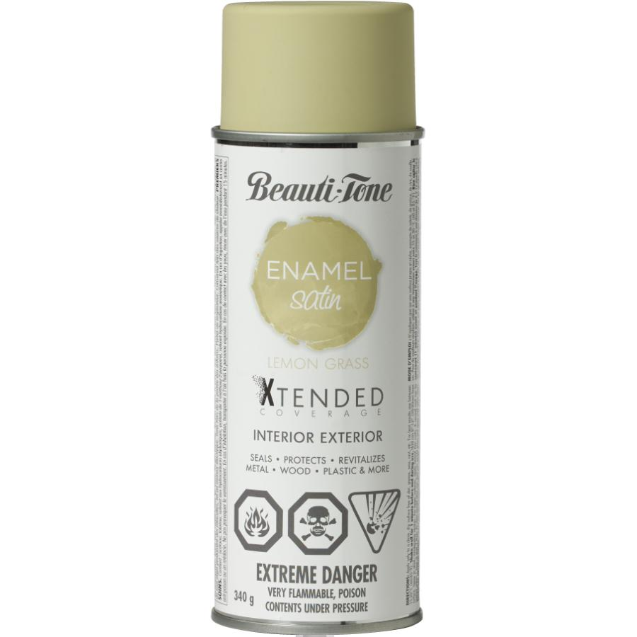 BEAUTI-TONE 340g Interior/Exterior Lemon Grass Satin Solvent Paint