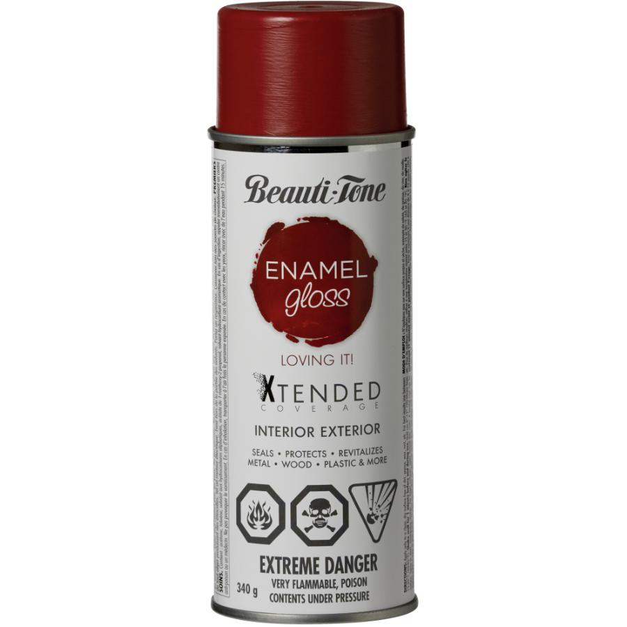 Beauti-tone 340g Interior/Exterior Loving It Bright Red High Gloss Solvent Paint