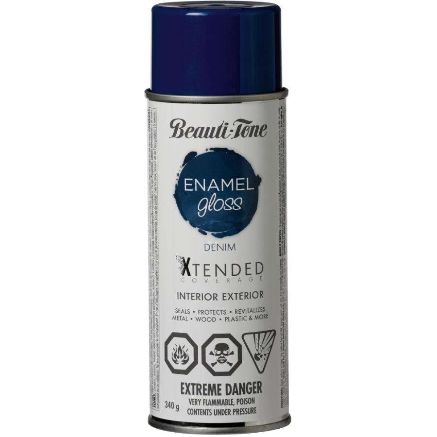 Beauti-tone 340g Interior/Exterior Denim High Gloss Solvent Paint