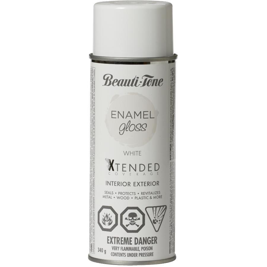 Beauti-tone: 340g Gloss White Solvent Paint