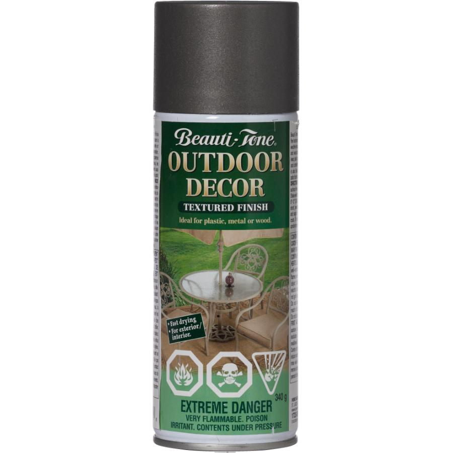 BEAUTI-TONE 340g Outdoor Decor Pewter Solvent Paint