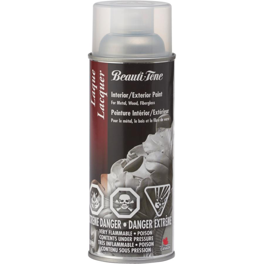 Beautitone: Lacquer Spray Paint - Gloss Clear, 340 g