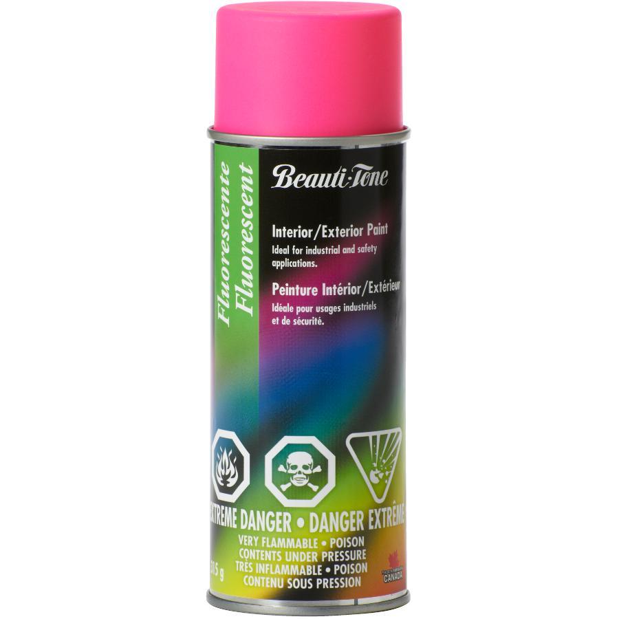 Beautitone Fluorescent Spray Paint - Hot Pink, 315 g