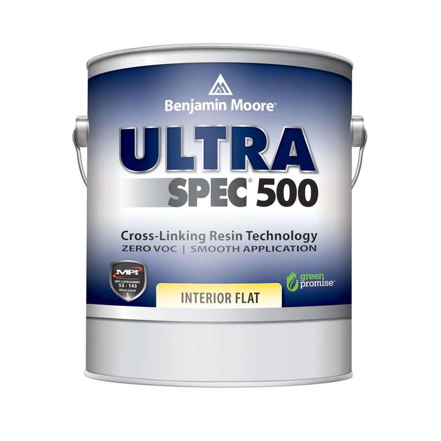 Benjamin Moore Ultra Spec 500 Interior - Flat Finish