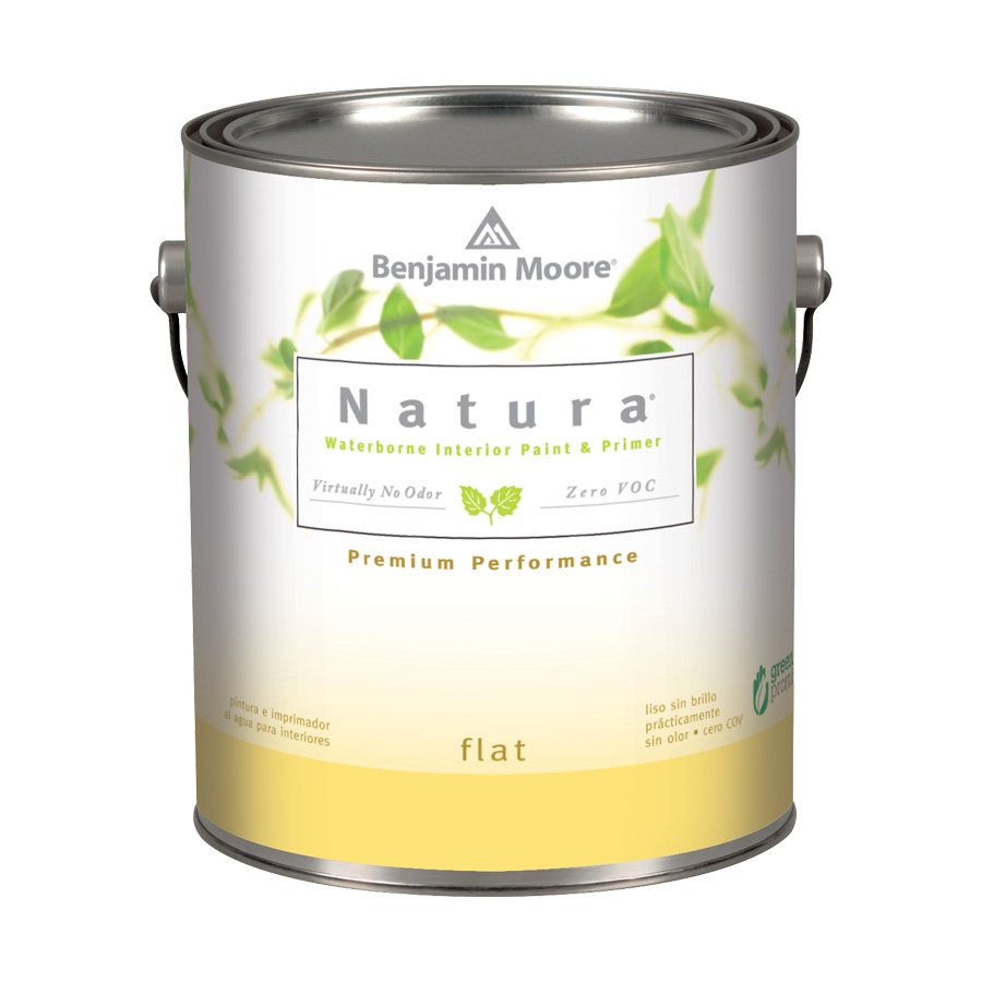 Benjamin Moore: Natura Interior Paint - Flat Finish