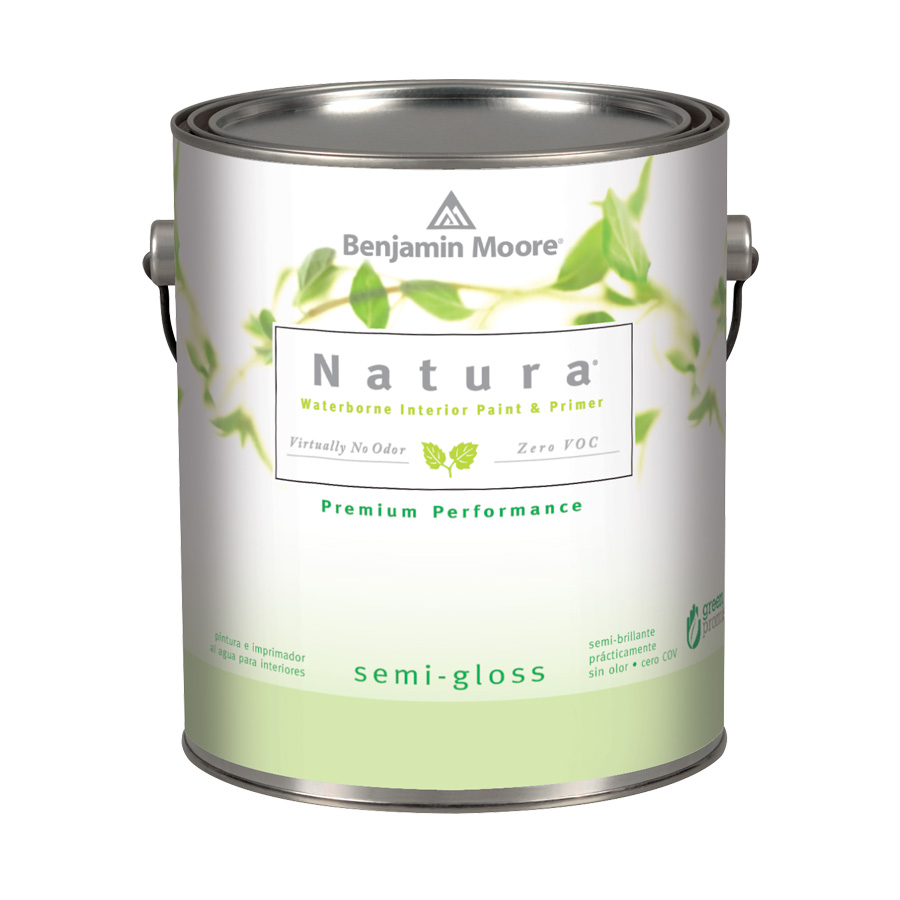 Benjamin Moore Natura Interior Paint - Semi Gloss Finish