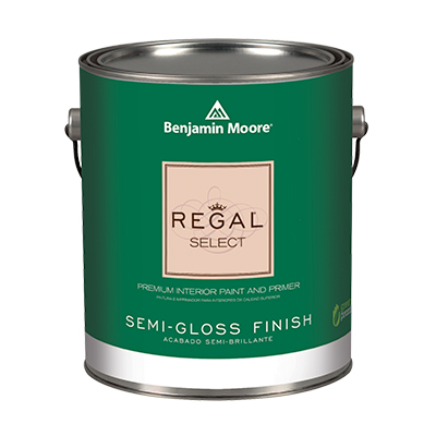 Benjamin Moore REGAL Select Interior Paint - Semi-Gloss