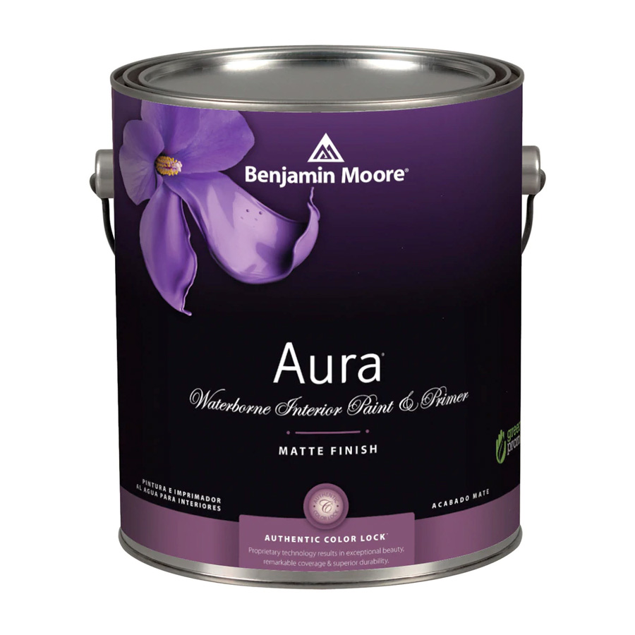 Benjamin Moore Aura Waterborn Interior Paint - Matte Finish