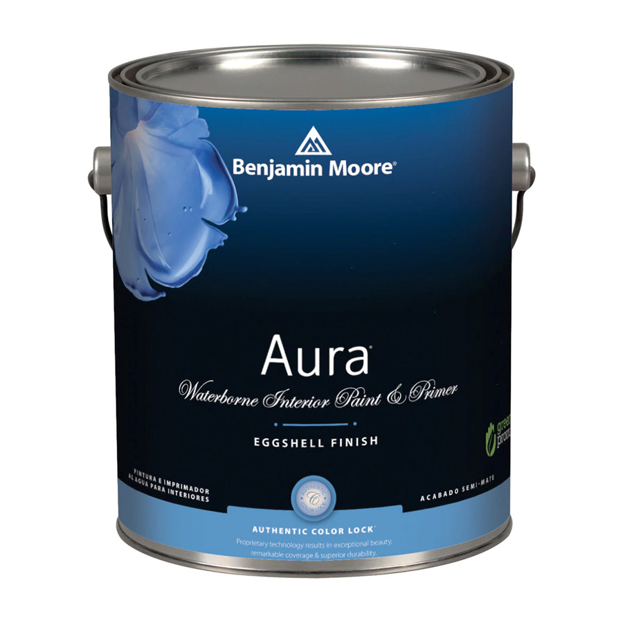Benjamin Moore Aura Waterborn Interior Paint - Eggshell Finish