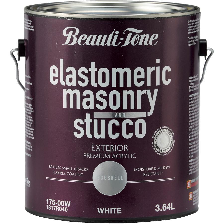 Beauti-tone 3.64L White Elastomeric Masonry Acrylic Paint