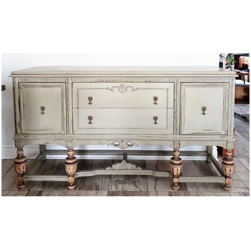 Bluestone House: Chalky Patina Furniture Paint - Grainsack, 473 ml