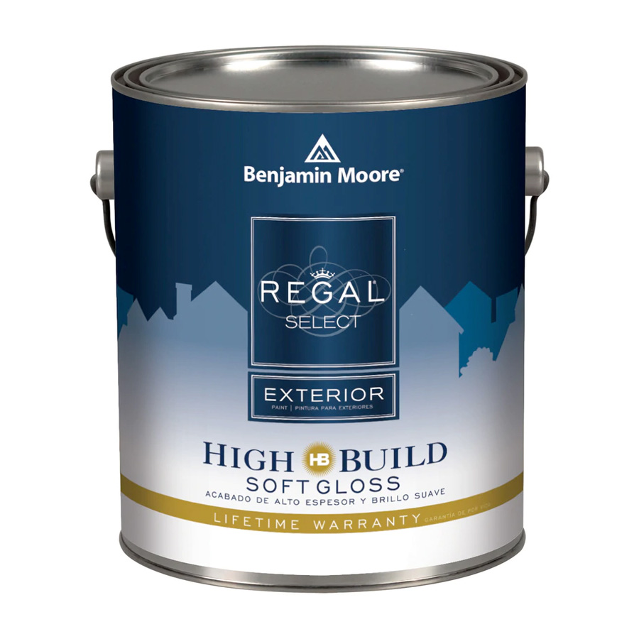 Benjamin Moore Regal Select Exterior - Soft Gloss Finish