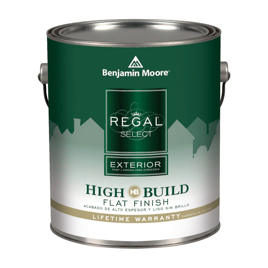 Benjamin Moore Regal Select Exterior - Flat Finish