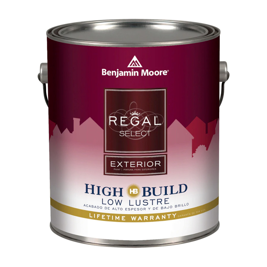 Benjamin Moore Regal Select Exterior - Low Lustre Finish