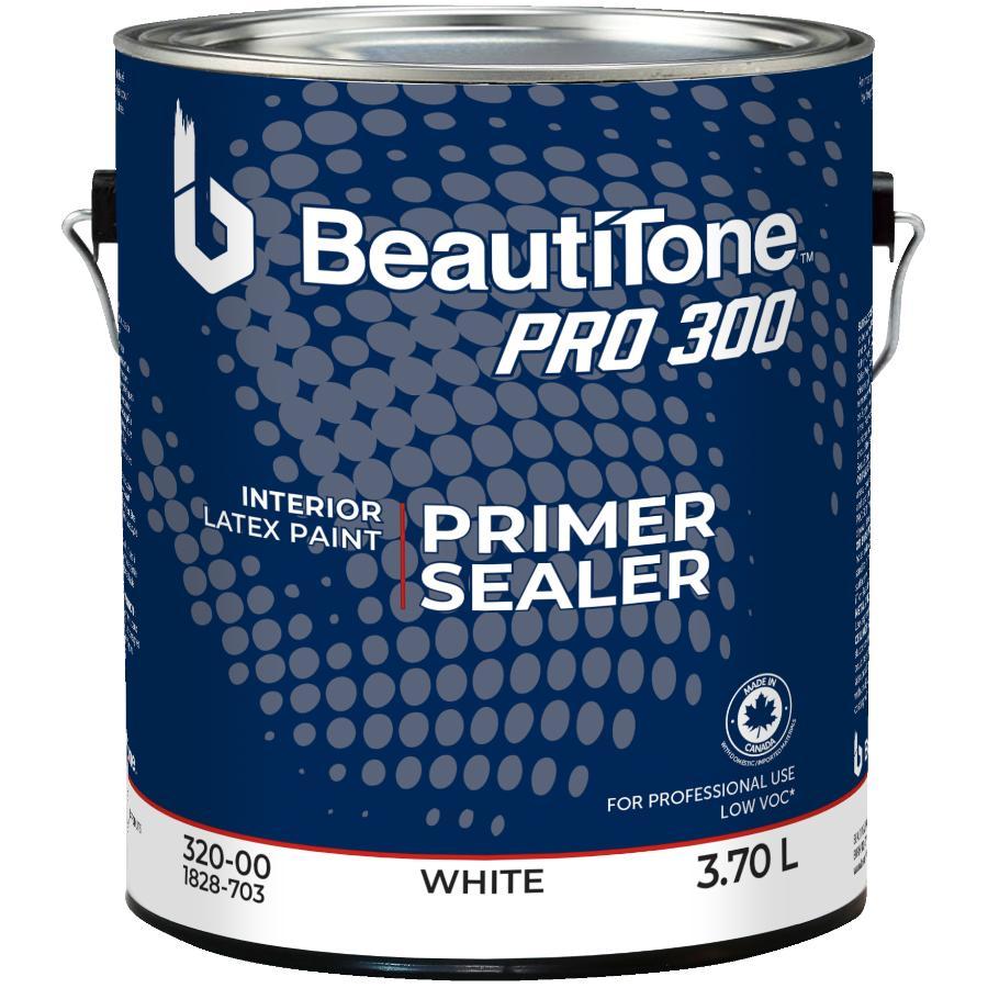 Beauti-tone Professional: 3.78L White PRO 300 Interior Latex Primer Sealer