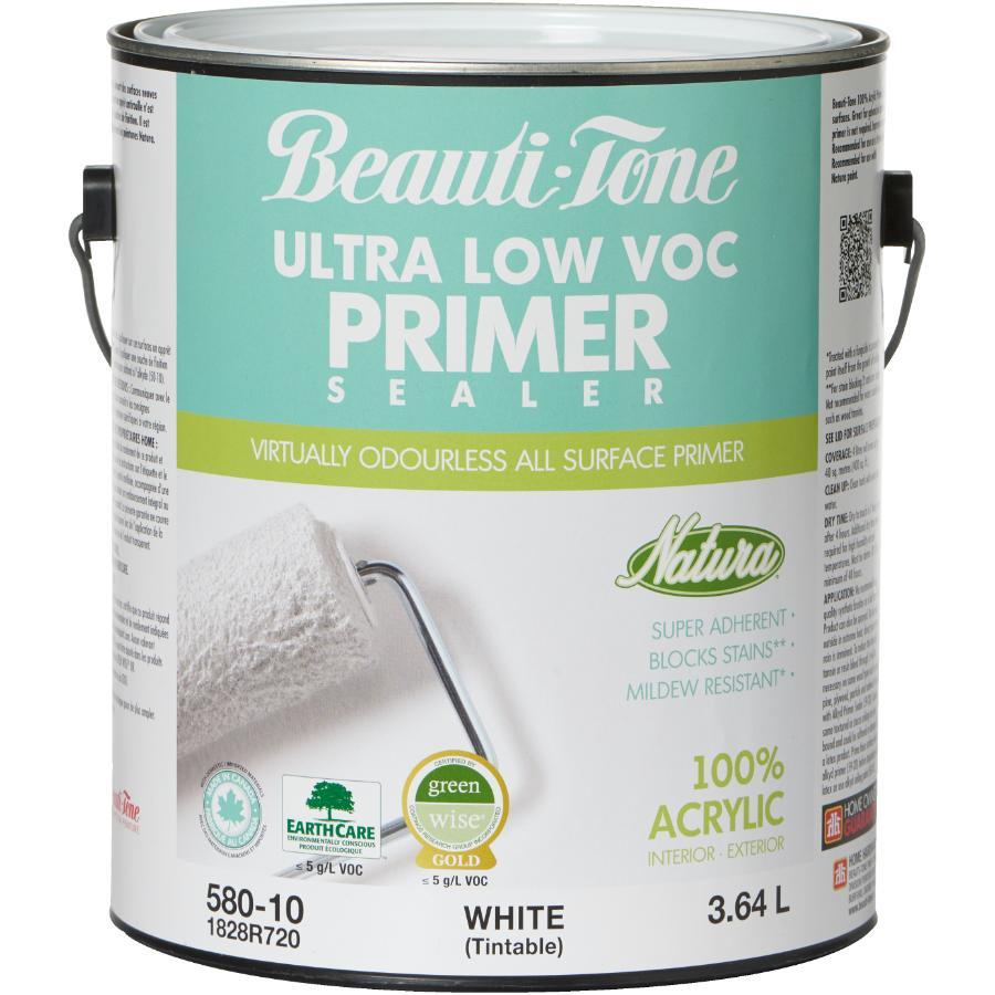 Beauti-tone Natura 3.64L White Interior/Exterior Latex Primer Sealer