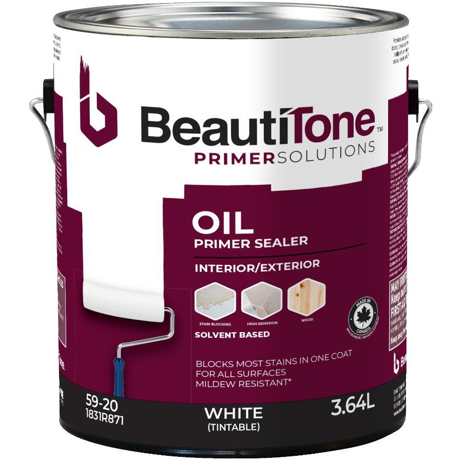 Beauti-tone 3.64L White Interior/Exterior Alkyd Primer Sealer