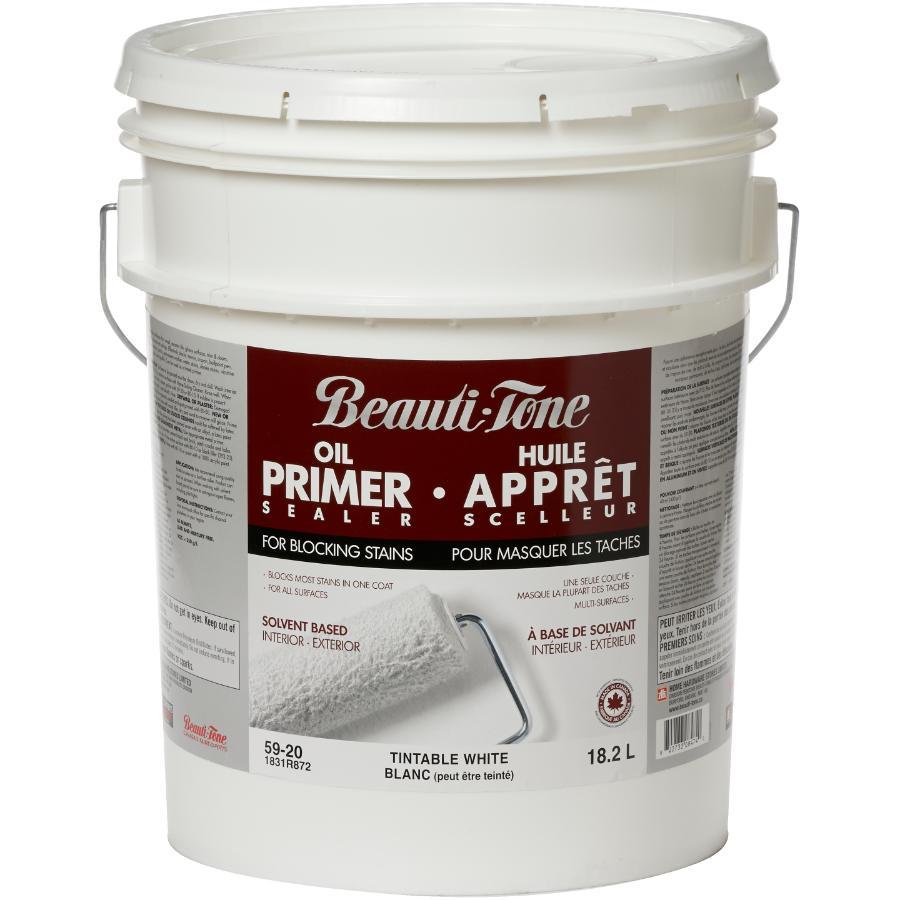 Beauti-tone: 18.2L White Interior/Exterior Alkyd Primer Sealer