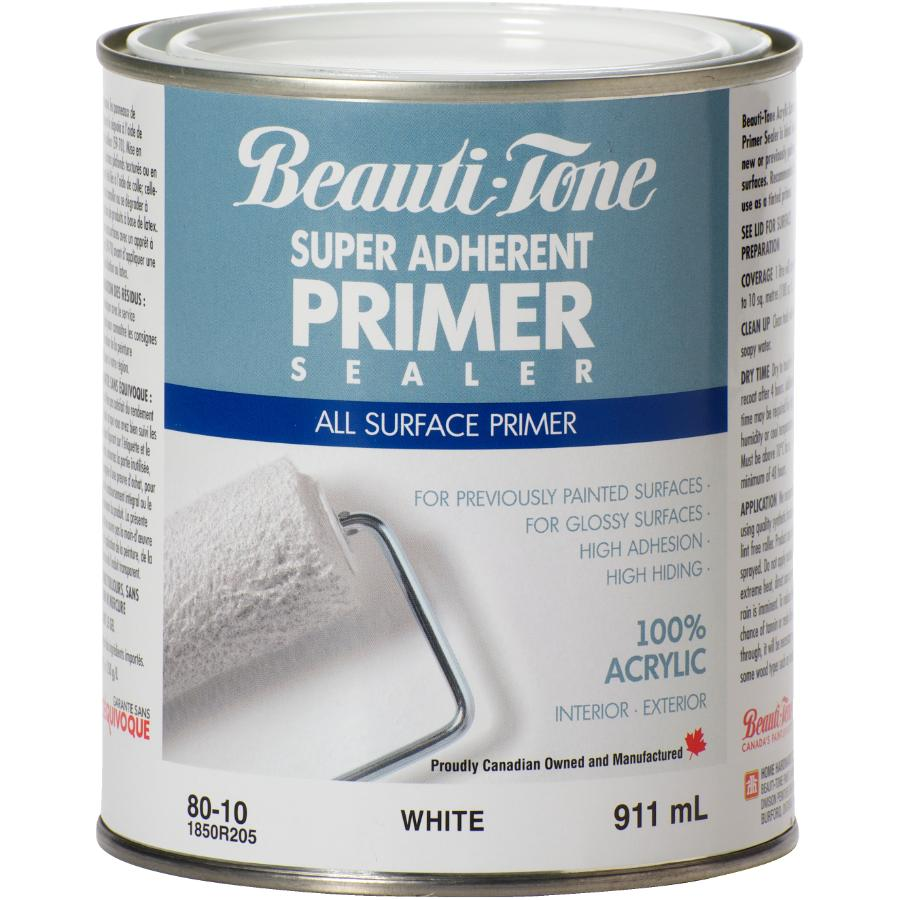 Beauti-tone: 911mL White Interior/Exterior Latex Primer