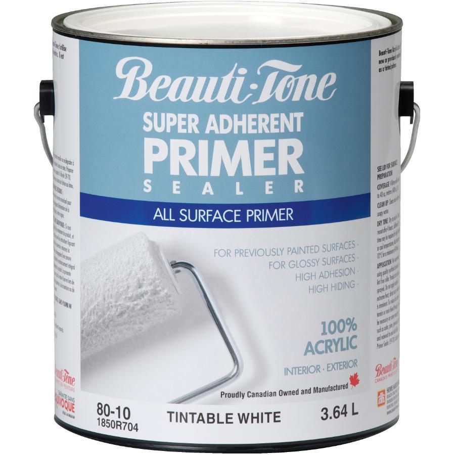 Beauti-tone: 3.64L White Interior/Exterior Latex Primer